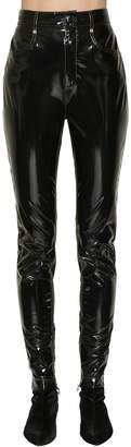 Sonia Rykiel Faux Patent Leather Pants
