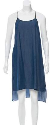 Jonathan Simkhai Chambray Mini Dress