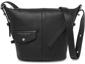Marc Jacobs Sling Mini Leather Shoulder Bag - Black