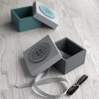The Contemporary Home Button Trinket Box