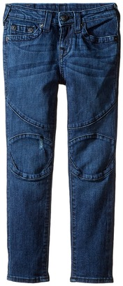 True Religion Kids Rocco Moto Jeans in Roadster Blue (Toddler/Little Kids) $89 thestylecure.com