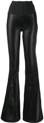 Elisabetta Franchi high waisted flared trousers