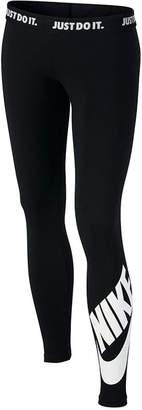 Nike Logo Graphic Leggings, Big Girls (7-16) $35 thestylecure.com