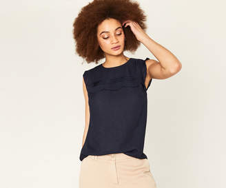 Oasis SCALLOP LINEN LOOK SHELL