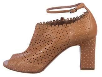 Tabitha Simmons Idda Peep-Toe Boots