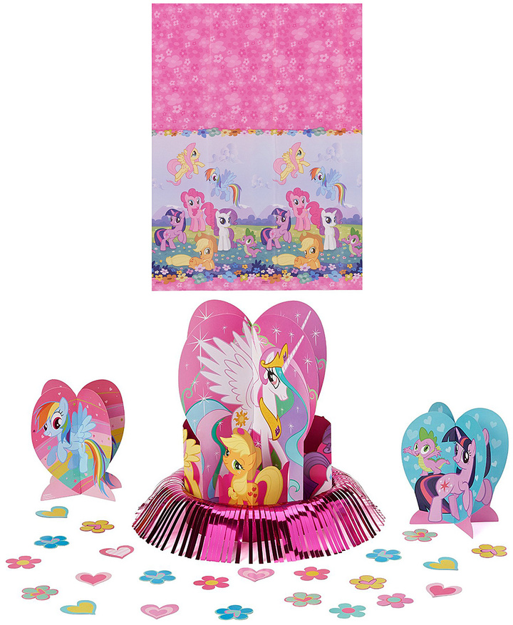 My Little Pony Friendship Magic Table Decorating Set