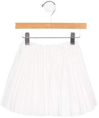 Tia Cibani Girls' Pleated A-Line Skirt w/ Tags