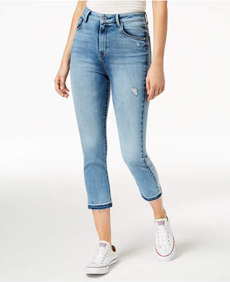 M1858 Audrey Straight-Leg Cropped Jeans