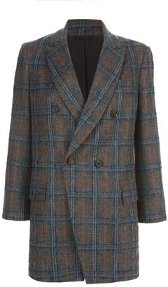 Brunello Cucinelli Wool Check Suit