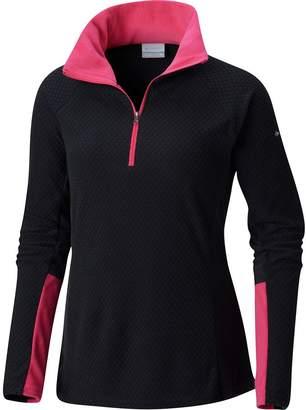 Columbia Glacial IV Print Half-Zip Fleece Pullover - Women's