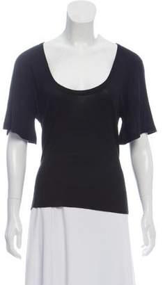 Mayle Short Sleeve U-Neck Sweater