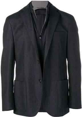 Corneliani built-in gilet blazer