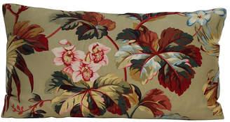 One Kings Lane Vintage Sage Waverly Botanical Pillow - Erin Keller Home