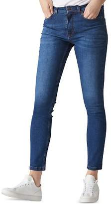Whistles High Rise Skinny Jeans in Blue