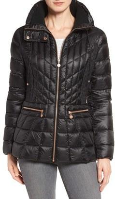 Women's Bernardo Packable Jacket With Down & Primaloft Fill $180 thestylecure.com