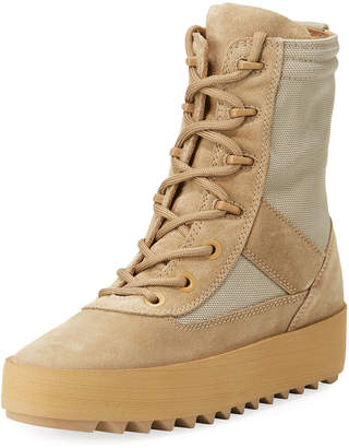 Yeezy Suede Platform Desert Boot