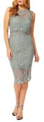 Occasion By Dex Lace Sheath Dress