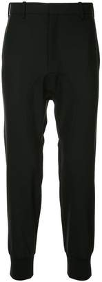Neil Barrett casual dropped-crotch trousers