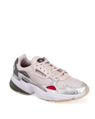 cheap for discount ce72f 0807c adidas Falcon Metallic Trainer Sneakers