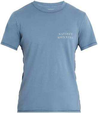 Satisfy Logo-print cotton-jersey T-shirt