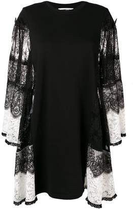 McQ two-tone lace dress