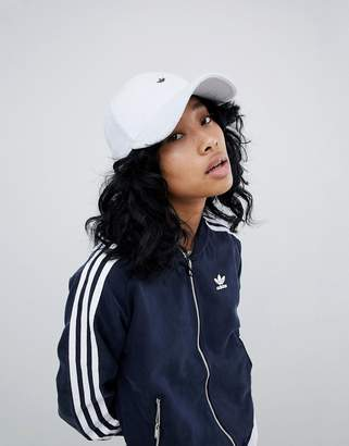 adidas Cap In Towelling With Metal Trefoil