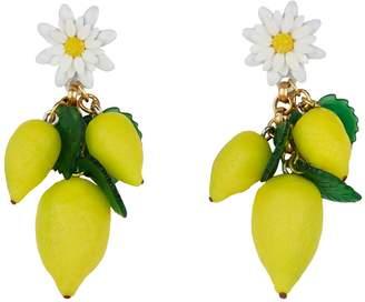 Elizabeth Cole Thaddea Lemon and Daisy Earrings