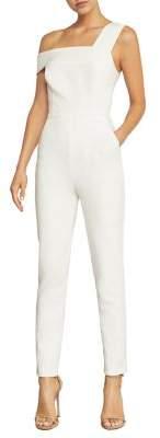 BCBGMAXAZRIA Off-The-Shoulder Jumpsuit
