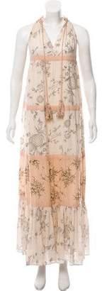 Ulla Johnson Floral Print Maxi Dress