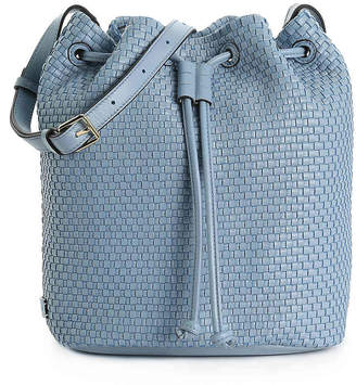 Cole Haan Bethany Weave Leather Bucket Bag - Women's
