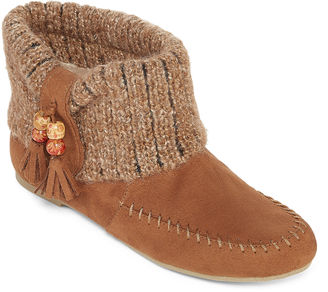ARIZONA Arizona Meeko Sweater Ankle Booties $39.99 thestylecure.com