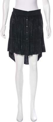 Raquel Allegra Knee-Length Tie-Dye Skirt w/ Tags