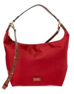 Lauren Ralph Lauren Logo Hobo Bag