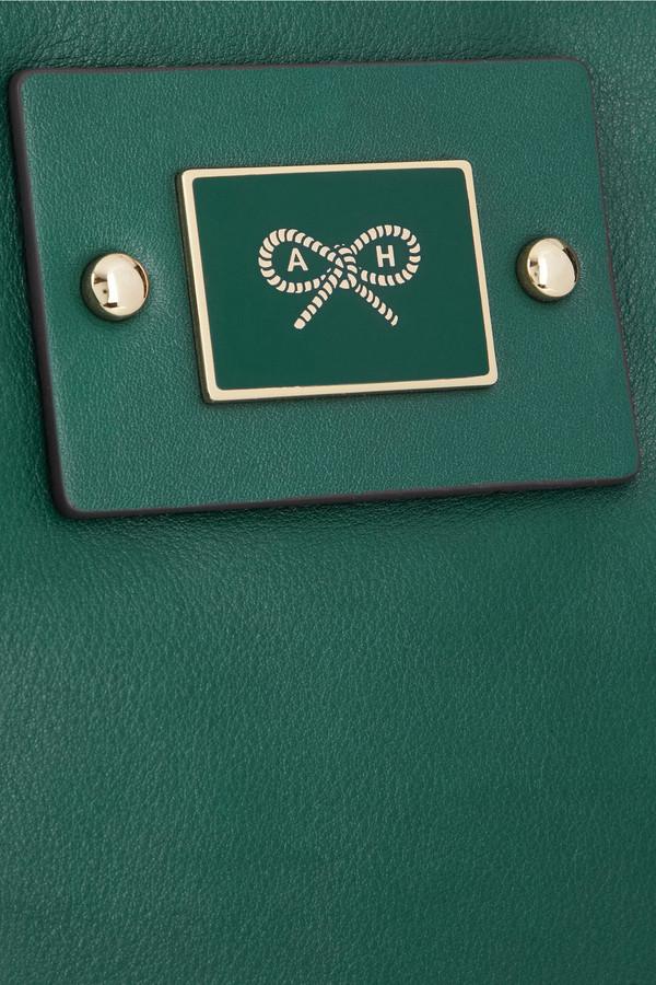 Anya Hindmarch Faithful leather clutch