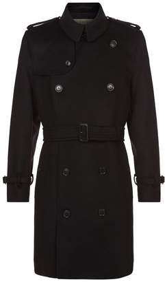 Burberry Wool Kensington Trench Coat