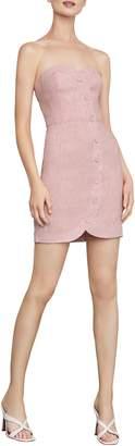 BCBGMAXAZRIA Striped Bustier Dress
