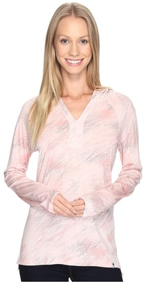 Smartwool - Merino 150 Pattern Hoodie Women's Sweatshirt $100 thestylecure.com
