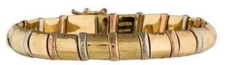 Chimento 18K Tri-Color Link Bracelet