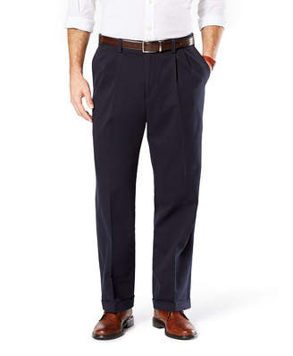 Dockers Relaxed Fit Easy Comfort Pants D4 - Pleated