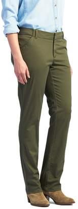 Lee Women's Essential Straight-Leg Chino Pants