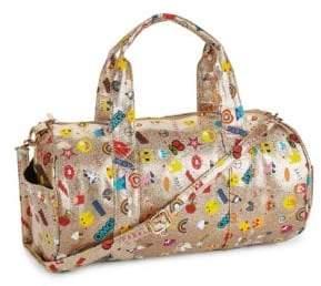 Glitter Emoji Duffle Bag