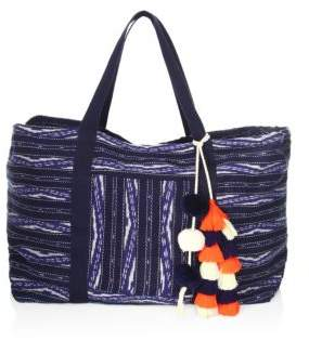 JADEtribe Handwoven Ikat Weekend Bag