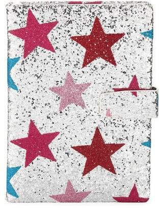 Bari Lynn Girls' Glittered Star Notebook
