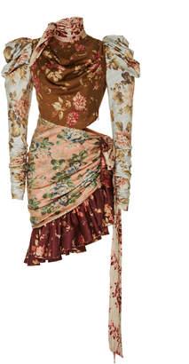 Zimmermann Tempest Silk Floral Mini Dress