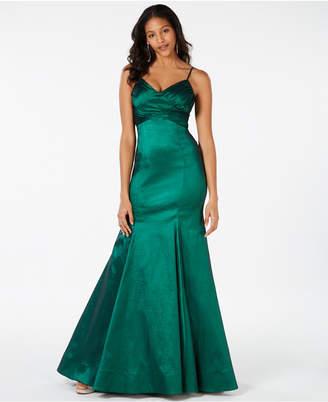B. Darlin Juniors' Tafetta Mermaid Dress