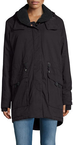 Bench Bench Relator Fleece-Trimmed Parka