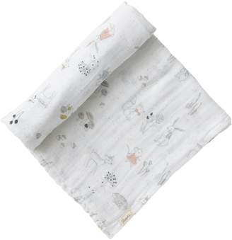 Pehr Designs Baby's Magical Forest Cotton Swaddle Blanket