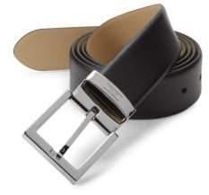 Armani Collezioni Tessuto Leather Belt