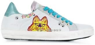 Zadig & Voltaire Zadig&Voltaire wolf print sneakers