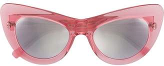 Cat Eye Andy Wolf Eyewear oversized sunglasses
